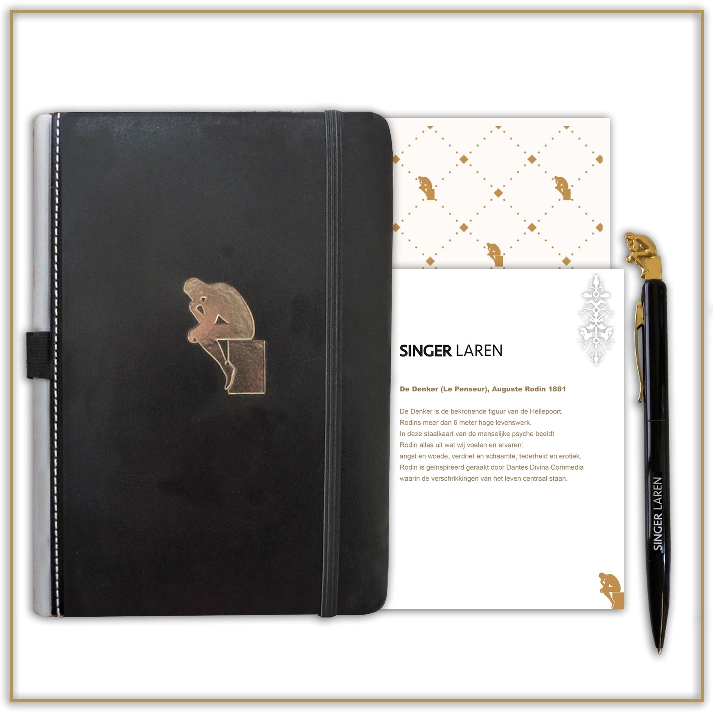 Notitieboekje De Denker met Pen