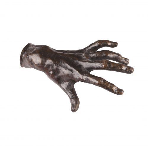 Rodin Hand of pianist *