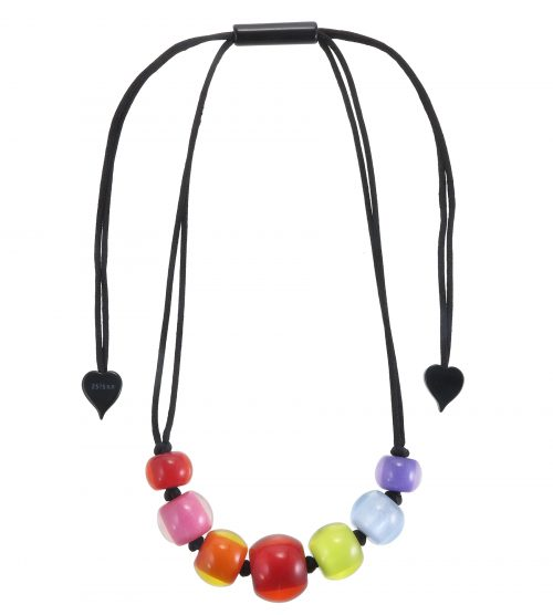 Zsiska Colorful Beads Necklace