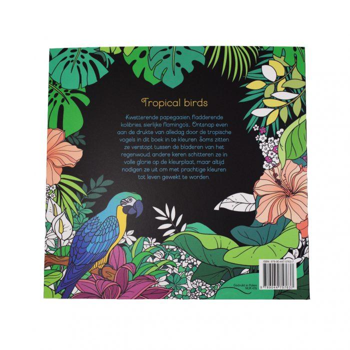 Kleuren voor Volwassenen Tropical Birds