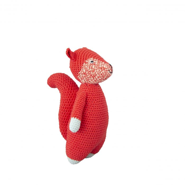 Crochet Doll Woodland Squirrel