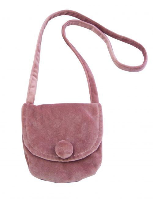 Velvet Girls Bag Pink