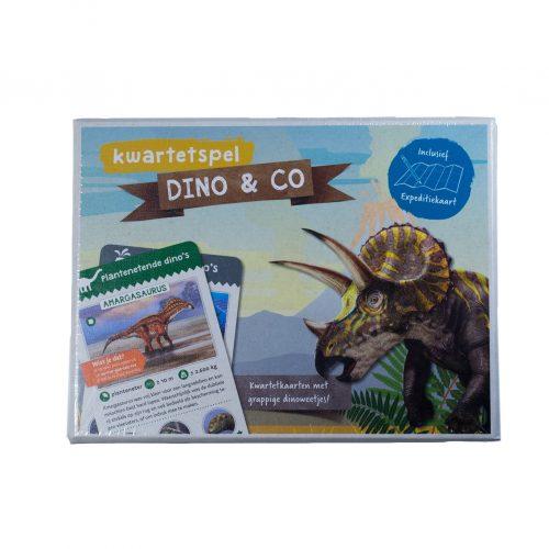 Kwartetspel Dinosauriers