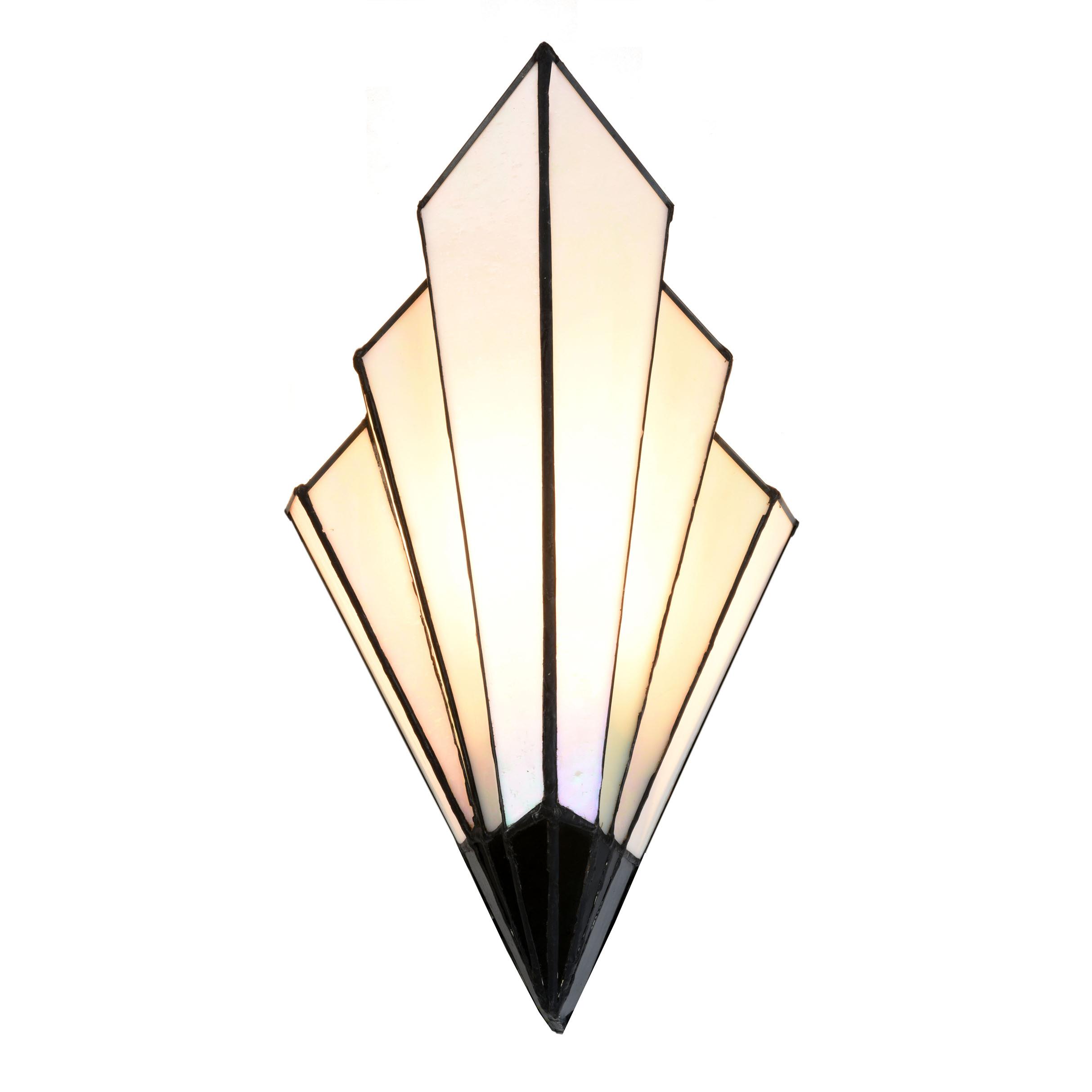 French Art Deco Tiffany Wandlamp *
