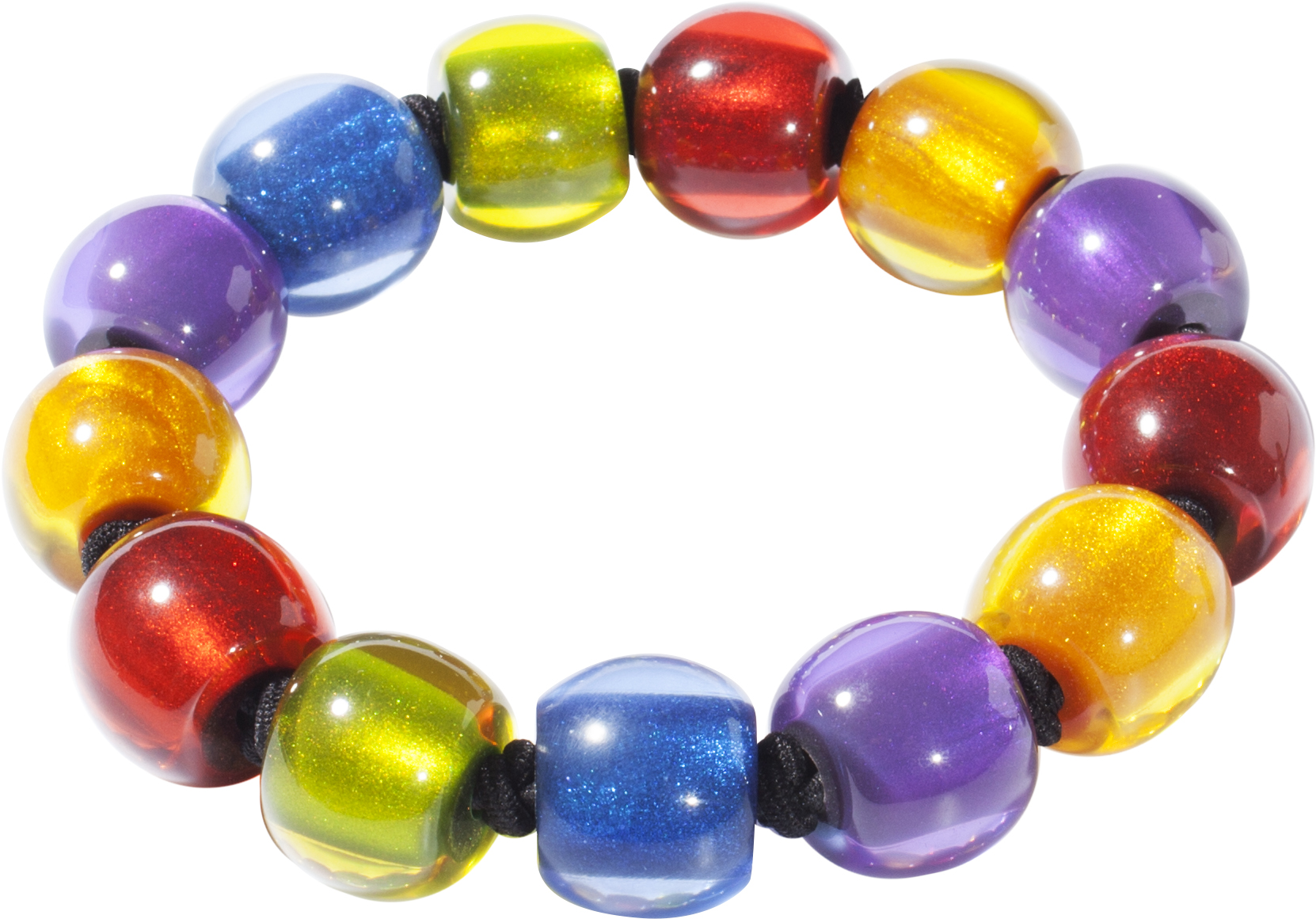 Zsiska Colorful beads bracelet (small beads)