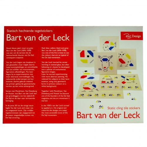 Bart van der Leck Tegelstickers