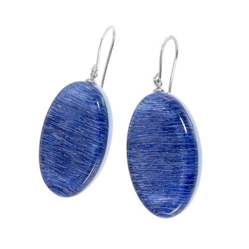 Elia Oorhangers blauw