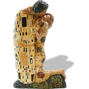 Miniatuur Klimt de Kus *