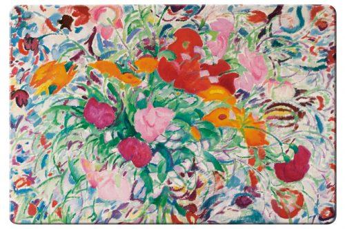Placemat Bloemen voor een gebloemde lap, Leo Gestel, Singer Laren