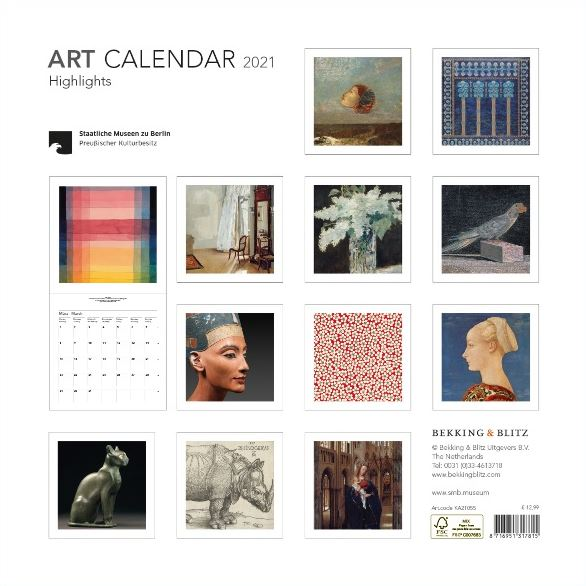 KA21055 Art Highlights SMB maandkalender 2021