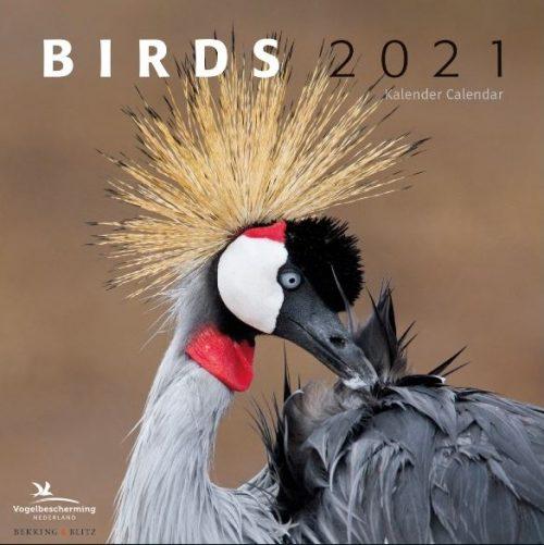 Birds Maandkalender 2021, Vogelbescherming