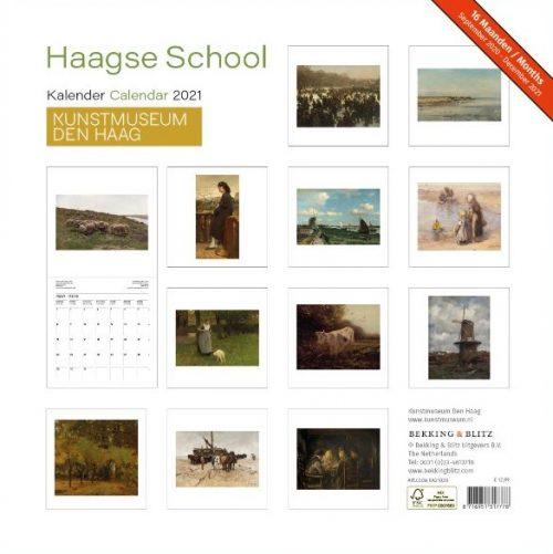 Haagse School Maandkalender 2021