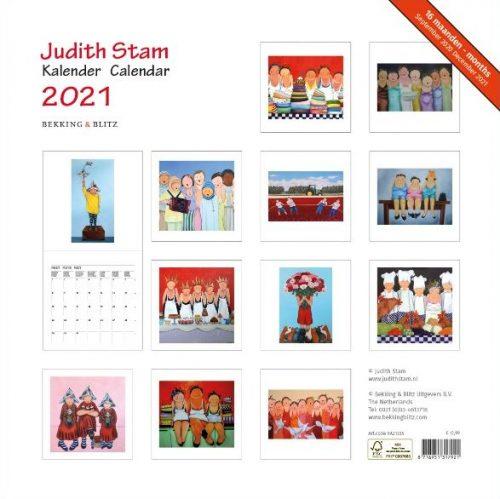 Judith Stam, Maandkalender 2021