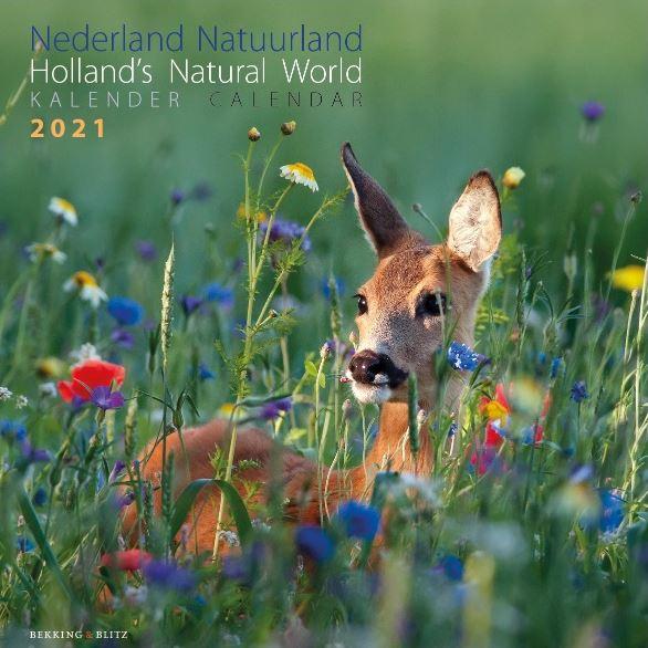 Nederland Natuurland Maandkalender 2021