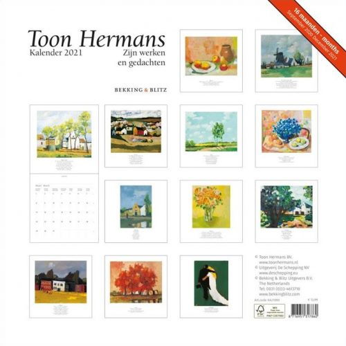 Toon Hermans Maandkalender 2021