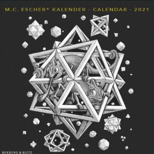 KA21320 Escher Mini Maandkalender 2021