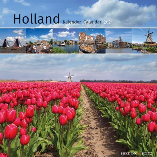 KA21300 Holland Mini Maandkalender 2021