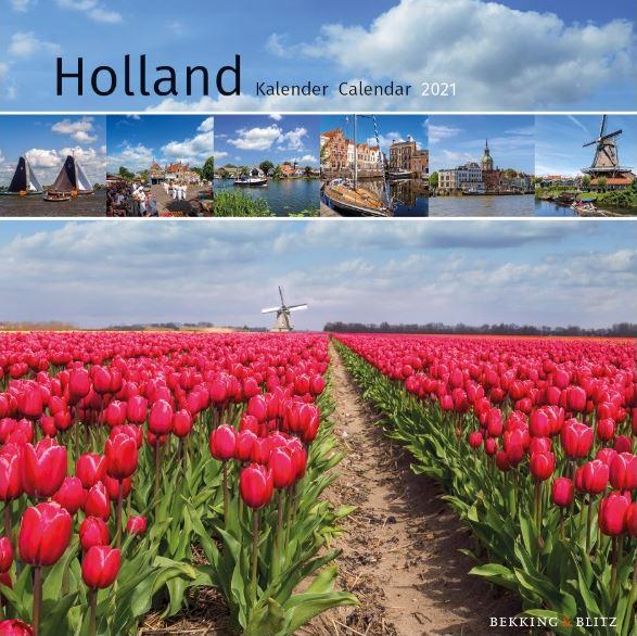 KA21300 Holland Mini Maandkalender 2021