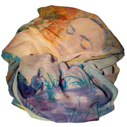 Art Sjaal Jan Toorop Compositie *
