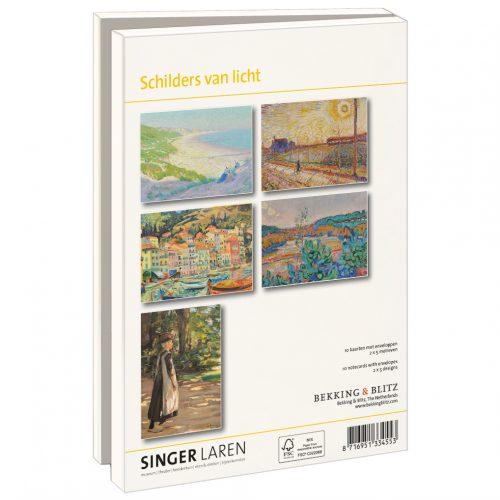 LMC365 Kaartenmapje Schilders van Licht, Singer Laren
