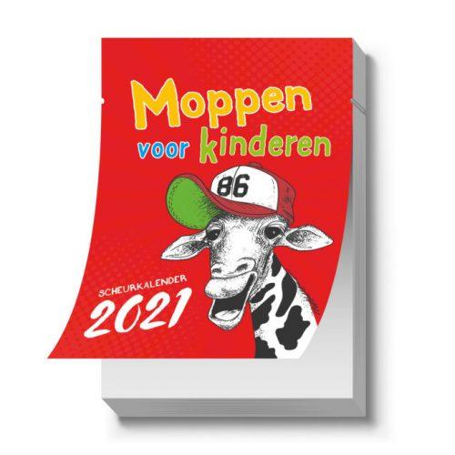 Scheurkalender Moppen voor kinderen 2021