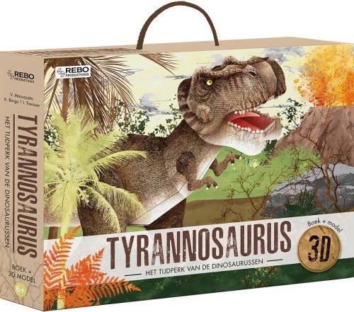 Tyrannosaurus, Boek plus 3D-model