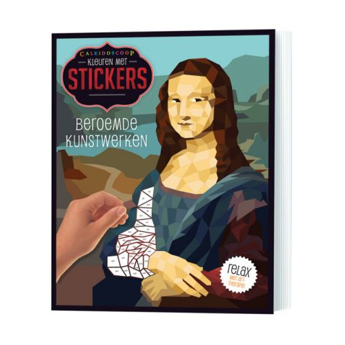 Caleidoscoop Kleuren met Stickers, Beroemde Kunstwerken