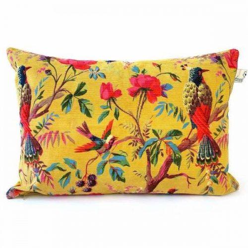 Cushion Paradise Rib Ocre