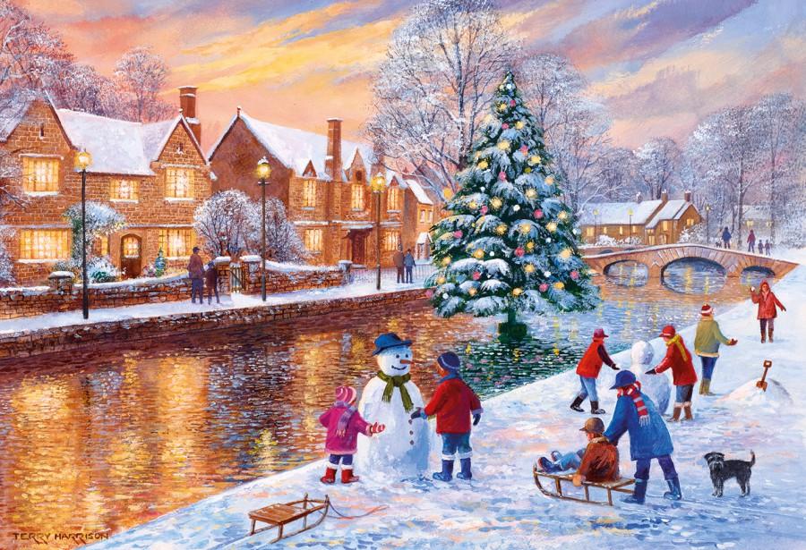 Puzzel Bourton at Christmas