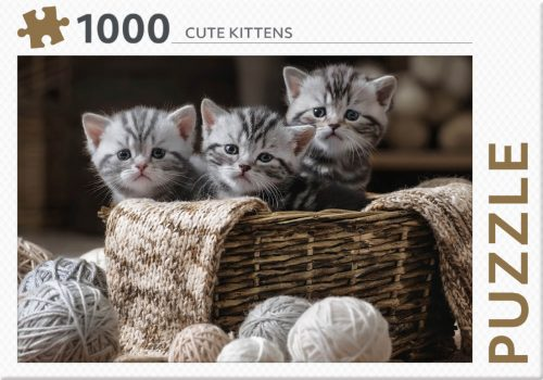 Cute Kittens Puzzel 1000 st
