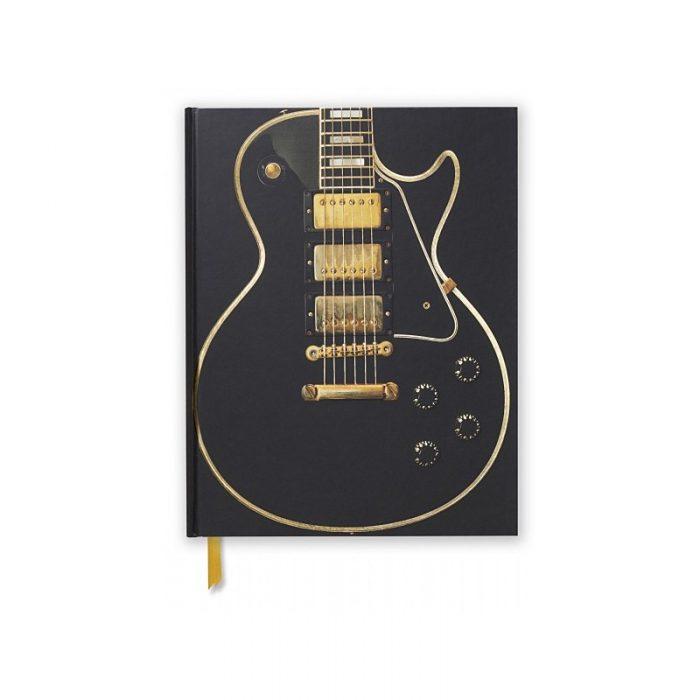 Sketch Book Gibson Les Paul Black Guitar