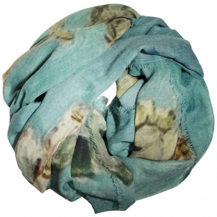 Sjaal Van Gogh, Almond Blossom, 100% Wool