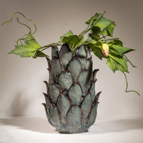 Vase Pisa Blue Mirage*