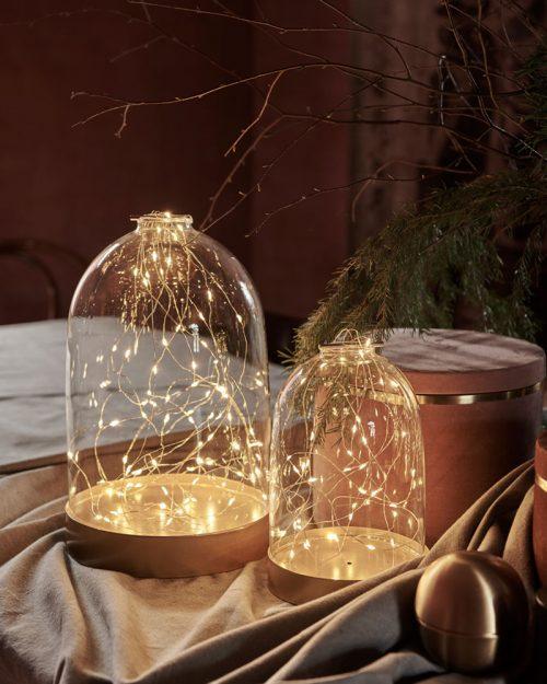 Bianca Dome Gold 40L H23cm