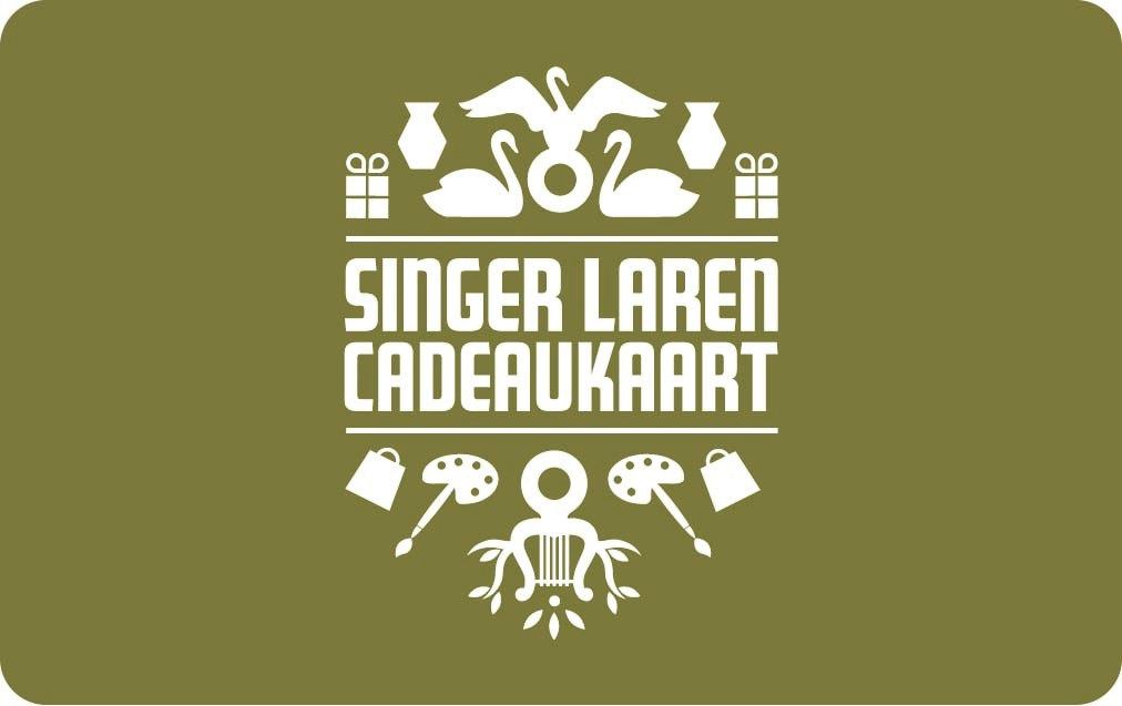 Cadeaukaart Singer Laren 15 Euro
