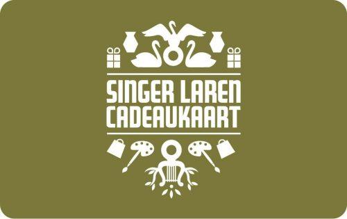 Cadeaukaart Singer Laren 25 Euro