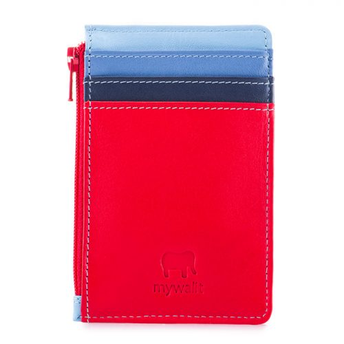 Credit Card Holderw/Coin Purse Royal