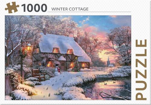 Puzzel Winter Cottage